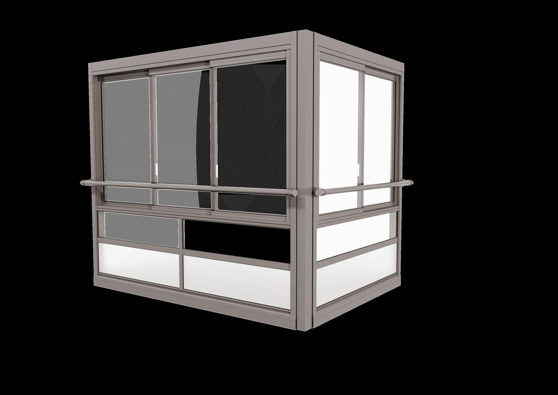 <span>TwinView™ Air</span> Innglassingssystem med store, innrammede luker.